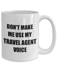 Load image into Gallery viewer, Travel Agent Mug Coworker Gift Idea Funny Gag For Job Coffee Tea Cup-Coffee Mug