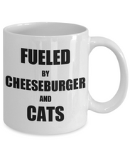 Load image into Gallery viewer, Cat Cheeseburger Mug Funny Gift Idea for Novelty Gag Coffee Tea Cup-Coffee Mug