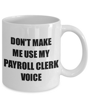Load image into Gallery viewer, Payroll Clerk Mug Coworker Gift Idea Funny Gag For Job Coffee Tea Cup-Coffee Mug