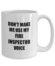 Load image into Gallery viewer, Fire Inspector Mug Coworker Gift Idea Funny Gag For Job Coffee Tea Cup-Coffee Mug