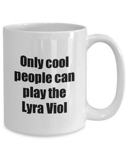 Lyra Viol Player Mug Musician Funny Gift Idea Gag Coffee Tea Cup-Coffee Mug