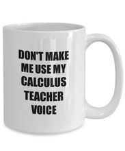 Load image into Gallery viewer, Calculus Teacher Mug Coworker Gift Idea Funny Gag For Job Coffee Tea Cup-Coffee Mug