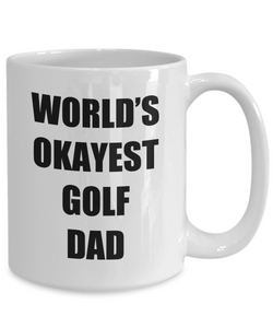 Golf Dad Mug Funny Gift Idea for Novelty Gag Coffee Tea Cup-Coffee Mug