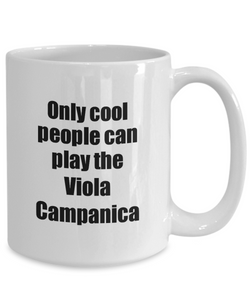 Viola Campanica Player Mug Musician Funny Gift Idea Gag Coffee Tea Cup-Coffee Mug
