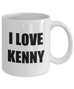 I Love Kenny Mug Funny Gift Idea Novelty Gag Coffee Tea Cup-Coffee Mug