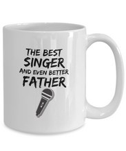 Load image into Gallery viewer, Singer Mom Mug Best Mother Funny Gift for Mama Novelty Gag Coffee Tea Cup-Coffee Mug