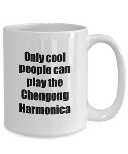 Chengong Harmonica Player Mug Musician Funny Gift Idea Gag Coffee Tea Cup-Coffee Mug