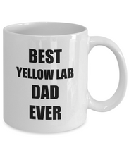 Load image into Gallery viewer, Yellow Lab Dad Mug Labrador Funny Gift Idea for Novelty Gag Coffee Tea Cup-[style]