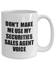 Load image into Gallery viewer, Securities Sales Agent Mug Coworker Gift Idea Funny Gag For Job Coffee Tea Cup Voice-Coffee Mug