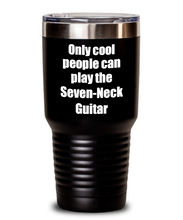 Load image into Gallery viewer, Funny Seven-Neck Guitar Player Tumbler Musician Gift Idea Gag Insulated with Lid Stainless Steel Cup-Tumbler
