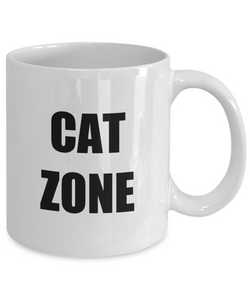 Cat Zone Tee Mug Funny Gift Idea for Novelty Gag Coffee Tea Cup-Coffee Mug