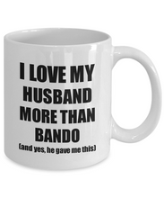 Load image into Gallery viewer, Bando Wife Mug Funny Valentine Gift Idea For My Spouse Lover From Husband Coffee Tea Cup-Coffee Mug
