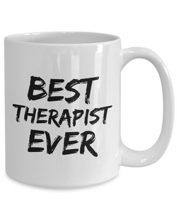 Therapist Mug Best Massage Body Mental Ever Funny Gift for Coworkers Novelty Gag Coffee Tea Cup-Coffee Mug