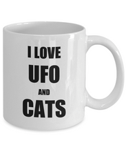 Load image into Gallery viewer, Cat Ufo Mug Funny Gift Idea for Novelty Gag Coffee Tea Cup-Coffee Mug