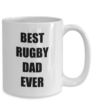 Load image into Gallery viewer, Rugby Dad Mug Funny Gift Idea for Novelty Gag Coffee Tea Cup-[style]