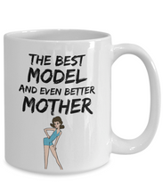 Load image into Gallery viewer, Model Mom Mug - Best Fashion Model Mother Ever - Funny Gift for Mannequin Mama-Coffee Mug