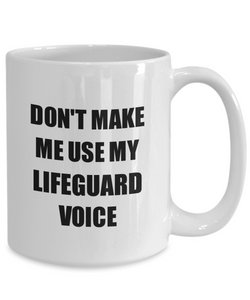 Lifeguard Mug Coworker Gift Idea Funny Gag For Job Coffee Tea Cup-Coffee Mug