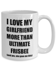 Load image into Gallery viewer, Ultimate Frisbee Boyfriend Mug Funny Valentine Gift Idea For My Bf Lover From Girlfriend Coffee Tea Cup-Coffee Mug
