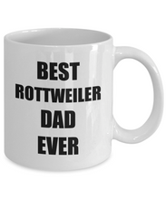 Load image into Gallery viewer, Rottweiler Dad Mug Rottie Funny Gift Idea for Novelty Gag Coffee Tea Cup-Coffee Mug