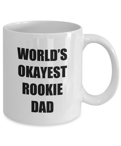 Rookie Dad Mug Funny Gift Idea for Novelty Gag Coffee Tea Cup-[style]
