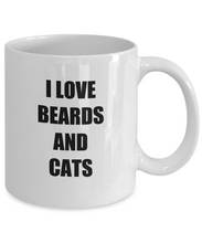 Load image into Gallery viewer, Cat Beard Mug Lover Funny Gift Idea for Novelty Gag Coffee Tea Cup-[style]