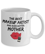 Load image into Gallery viewer, Funny Makeup Artist Mom Mug Best Mother Coffee Cup-Coffee Mug
