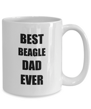 Load image into Gallery viewer, Beagle Dad Mug Dog Lover Funny Gift Idea for Novelty Gag Coffee Tea Cup-[style]