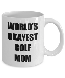 Golf Mom Mug Funny Gift Idea for Novelty Gag Coffee Tea Cup-Coffee Mug