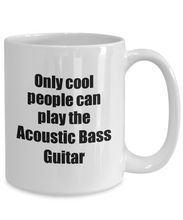 Load image into Gallery viewer, Acoustic Bass Guitar Player Mug Musician Funny Gift Idea Gag Coffee Tea Cup-Coffee Mug