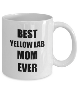 Yellow Lab Mom Mug Labrador Funny Gift Idea for Novelty Gag Coffee Tea Cup-[style]