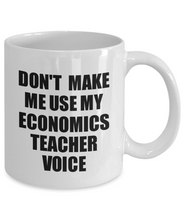 Load image into Gallery viewer, Economics Teacher Mug Coworker Gift Idea Funny Gag For Job Coffee Tea Cup Voice-Coffee Mug
