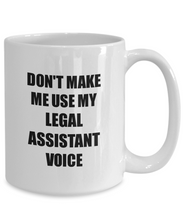 Load image into Gallery viewer, Legal Assistant Mug Coworker Gift Idea Funny Gag For Job Coffee Tea Cup-Coffee Mug