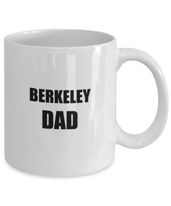 Berkeley Dad Mug Dog Lover Funny Gift Idea for Novelty Gag Coffee Tea Cup-[style]