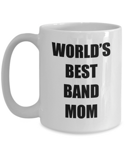 Band Mom Mug Musician Funny Gift Idea for Novelty Gag Coffee Tea Cup-Coffee Mug