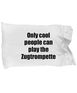Zugtrompette Player Pillowcase Musician Funny Gift Idea Bed Body Pillow Cover Case Set-Pillow Case