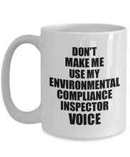 Load image into Gallery viewer, Environmental Compliance Inspector Mug Coworker Gift Idea Funny Gag For Job Coffee Tea Cup Voice-Coffee Mug