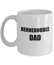 Load image into Gallery viewer, Bernedoodle Dad Mug Dog Lover Funny Gift Idea for Novelty Gag Coffee Tea Cup-Coffee Mug