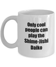 Load image into Gallery viewer, Shime-Jishi Daiko Player Mug Musician Funny Gift Idea Gag Coffee Tea Cup-Coffee Mug