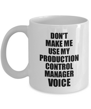Load image into Gallery viewer, Production Control Manager Mug Coworker Gift Idea Funny Gag For Job Coffee Tea Cup Voice-Coffee Mug