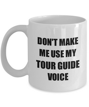 Load image into Gallery viewer, Tour Guide Mug Coworker Gift Idea Funny Gag For Job Coffee Tea Cup-Coffee Mug