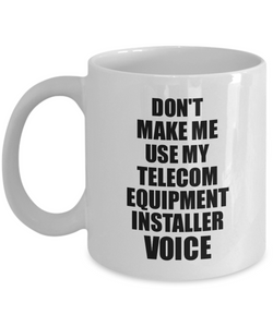 Telecom Equipment Installer Mug Coworker Gift Idea Funny Gag For Job Coffee Tea Cup Voice-Coffee Mug