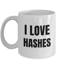 Load image into Gallery viewer, I Love Hashes Mug Funny Gift Idea Novelty Gag Coffee Tea Cup-Coffee Mug