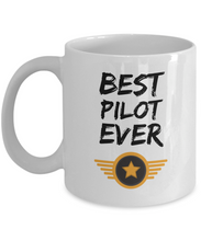 Load image into Gallery viewer, Pilot Mug Best Airline Army Jet Ever Funny Gift for Coworkers Novelty Gag Coffee Tea Cup-Coffee Mug