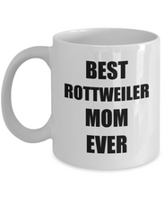 Load image into Gallery viewer, Rottweiler Mom Mug Rottie Funny Gift Idea for Novelty Gag Coffee Tea Cup-Coffee Mug