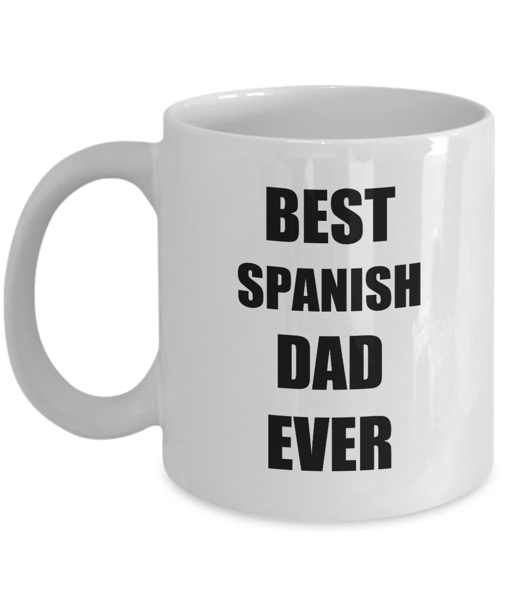 Dad Mug Spanish Best Funny Gift Idea for Novelty Gag Coffee Tea Cup-Coffee Mug