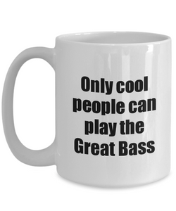 Great Bass Player Mug Musician Funny Gift Idea Gag Coffee Tea Cup-Coffee Mug