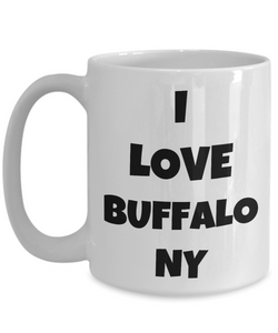 I Love Buffalo Ny Mug Funny Gift Idea Novelty Gag Coffee Tea Cup-Coffee Mug
