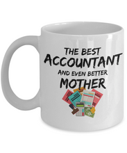 Load image into Gallery viewer, Acountant Mom Mug Best Mother Funny Gift for Mama Novelty Gag Coffee Tea Cup-Coffee Mug