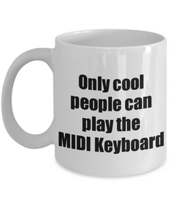 MIDI Keyboard Player Mug Musician Funny Gift Idea Gag Coffee Tea Cup-Coffee Mug