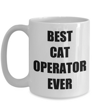 Load image into Gallery viewer, Cat Operator Mug Funny Gift Idea for Novelty Gag Coffee Tea Cup-[style]